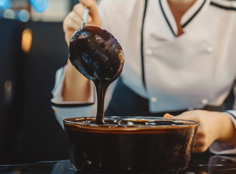 Preparación de Chocolates